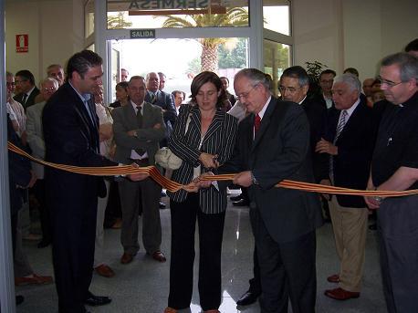 Inauguración nuevas instalaciones en Alzira