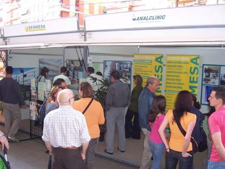 SERMESA en la Primera Feria Comercial de Mislata