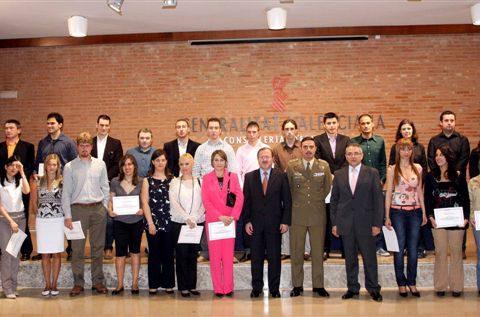 Entrega diplomas Premios Extraordinarios de Formación Profesional