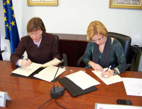 SERMESA y el Ayuntamiento de La Pobla firman un convenio para promover el  deporte saludable 837f84da0a6f
