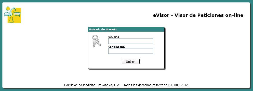 aplicación e-visor