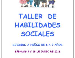 Taller de Entrenamiento en Habilidades Sociales