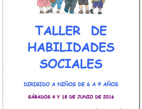 Proximamente Taller de Entrenamiento en Habilidades Sociales para niños de  6 a 9 años d24983c955e4
