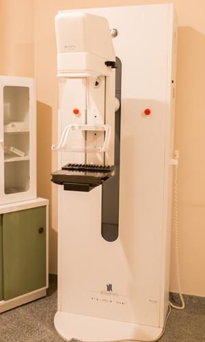 Mamografía - Mamógrafo