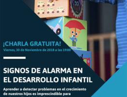 Charla Signos de Alarma en el Desarrollo Infantil