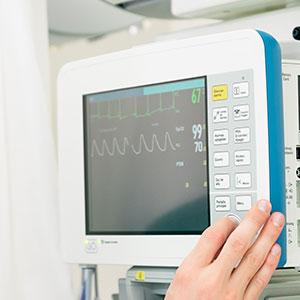 prueba de cardiología